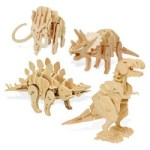 Wooden Robotic Dinosaurs