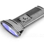 Flat Flashlight is easy to stash away