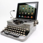 USB Typewriter Computer Keyboard – Put some Old School in your High Tech