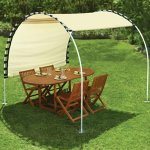 Suntracking Shelter keeps you in the shade at all times