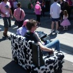 The Festival Couch – with Motors and Speakers, Oh My!