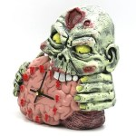 Handpainted Zombie Clock – Time for the Apocalypse