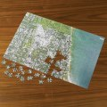 Personalized Satellite Map Jigsaw Puzzle