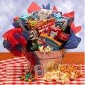 Blockbuster Night Movie Gift Pail 1 Month Net Flix