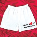 Personalized Heart On Boxers