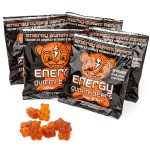 Energy Gummi Bears are a tasty substitute for your energy drinks