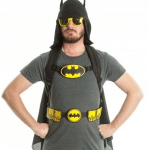 Batman Hooded Costume Backpack turns you into the Dark Knight