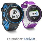 Garmin delivers two more GPS running watches – the Garmin Forerunner 620 and Forerunner 220