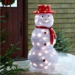 Pop-Up Snowman flips the bird to the weather channel