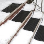 HeatTrak Snow and Ice Heated Stair Mat makes winter seem a little warmer