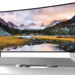 "LG intends to wow the CES 2014 crowd with first 105"" Curved Ultra HD TV in the world"