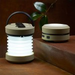 The Hand-Crank Accordion Lantern can come out and play or be packed away