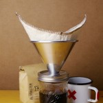 Pour Mason will let you make coffee in a canning jar