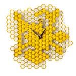 Busy Bee Wall Clock tells the time sweetly