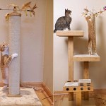 The Cat Power Tower will play with the cat when you're away