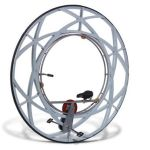 Ride the Olympic Ceremony Monowheel in your home
