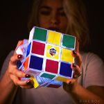 Rubik's Cube Light brightens up the room