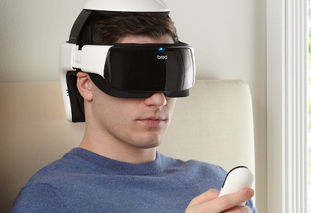 Breo eye and head massager