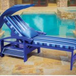 Solar Powered Entertainment Lounger lets you chill without energy worries