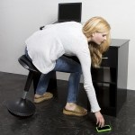 The Wobble Stool will let you stay active while sitting