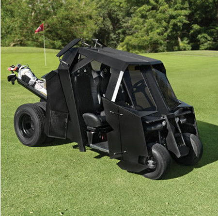 Gotham Golfcart lets you golf like Bruce Wayne