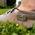 The Paleos PRONATIV chain mail running shoes protect your feet