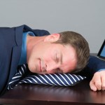 Driven Executive's Nap Tie lets you catch a breather