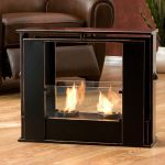 Portable Indoor/Outdoor Gel Fuel Fireplace delivers warmth in a jiffy