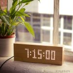 Message Click Clock tells the time in style