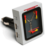 Flux Capacitor USB Car Charger won't let you travel back in time