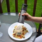 Cordless Lighted Salt or Pepper Mill lets you enjoy your meals – even in the dark