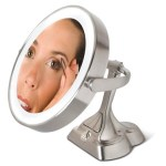 Articulating Variable Light Mirror helps you nitpick on those flaws