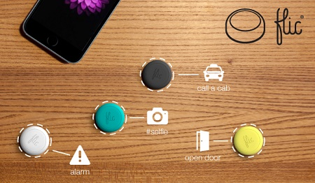Flic is a wireless button that