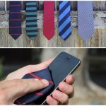 Microfiber-Lined Ties – clean up your act, and your smartphone screen