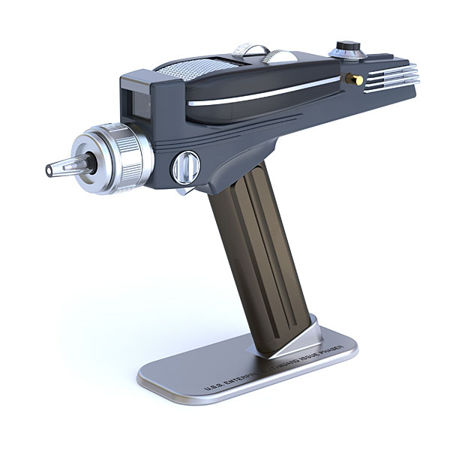 Exclusive Star Trek Phaser