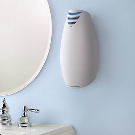 Wall Mounted Germ Eliminating Air Purifier Leave Some Space On - Bathroom air purifier