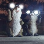 Garden Critter Solar Light adds variety to your garden at night