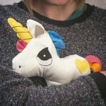 Heated Huggable Unicorn is cute and functional