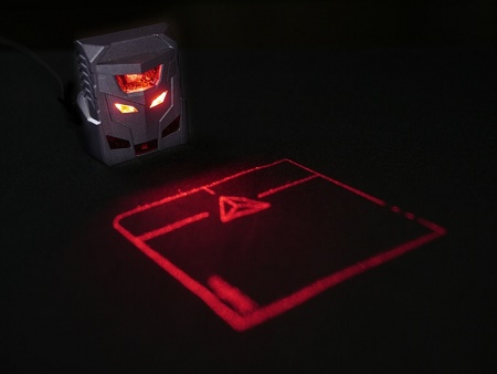 ODiN projected mouse