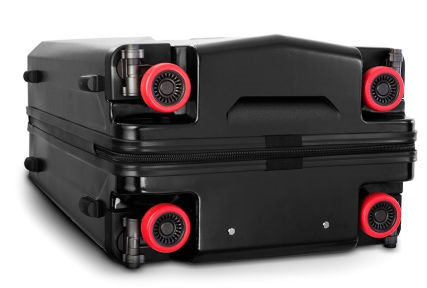 Heys Retractable Wheels Suitcase