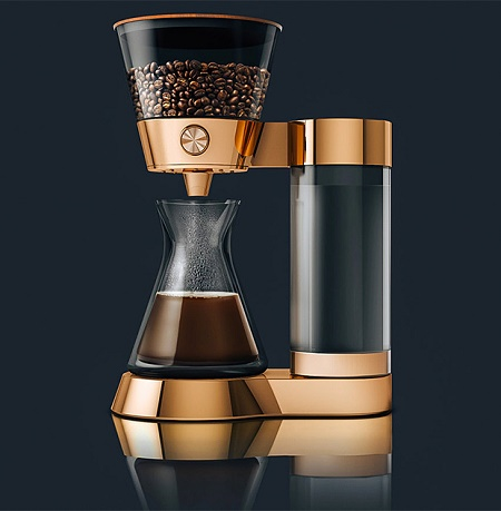 The poppy pour over coffee machine makes your morning brew for Dress your gadget