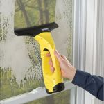 Vacuuming Squeegee makes sure your windows are squeaky clean