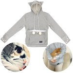 The Mewgaroo hoodie is for crazy cat people