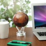 Mars Spinning Globe is a mesmerizing option for any desk