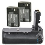 This Battery Grip Kit for Canon 60D will let you keep shooting on long days