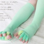 The Toe Stretcher Socks – beauty is a form of torture