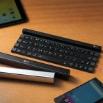 LG Rolly Keyboard offers a portable option for typing