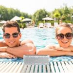 Turcom delivers a pair of water-resistant speakers
