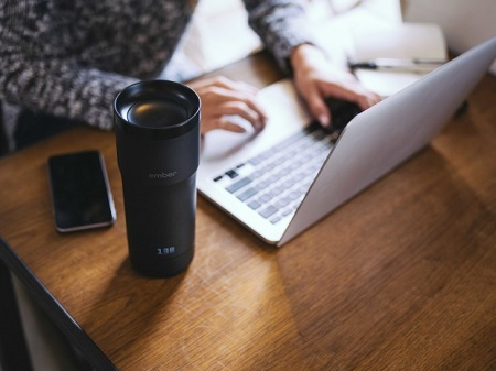 Ember adjustable temperature mug