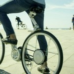 The Gi FlyBike is an electric bike that folds in one second